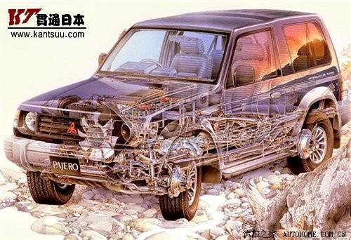 昔日明星 从v31到v97三菱帕杰罗进化史 汽车之家高清图片