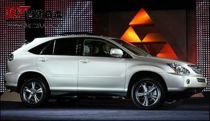 新款凌志rx 400h亮相北美国际汽车展 高清图片