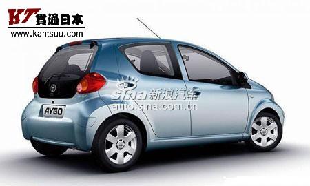 丰田与法国标志雪铁龙联合生产小型车 AYGO高清图片