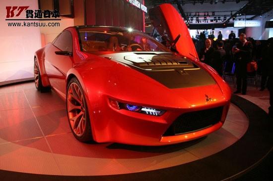三菱concept ra概念车 三菱蓝瑟evo x亮相 年底 高清图片