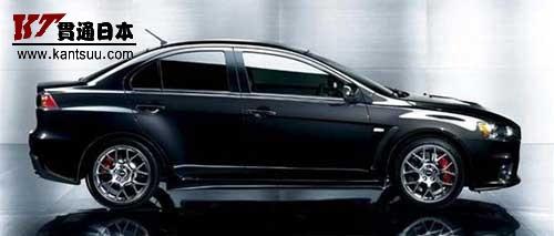 三菱在日本推出了2009款EVO车型