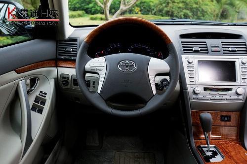 试驾体验09款丰田凯美瑞——贯通日本汽车频道