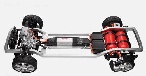 燃料电池的种类很多,而本田fcx