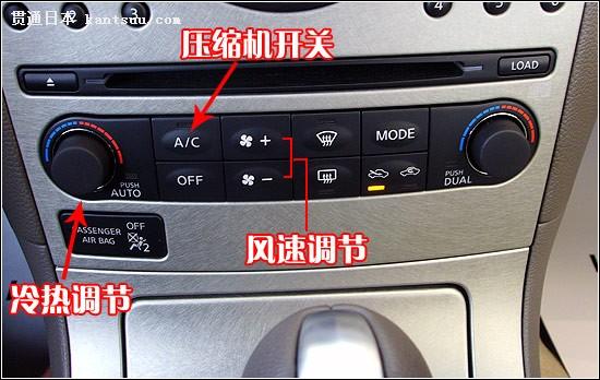 这款车的空调采用左右控制全自动空调