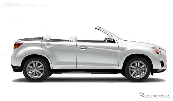 三菱在美披露SUV敞篷车型ASX convertible高清图片