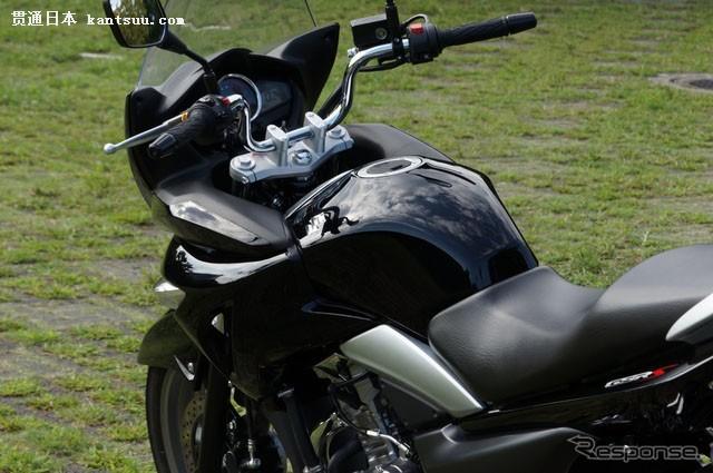 图解铃木运动型摩托车GSR250S的细节