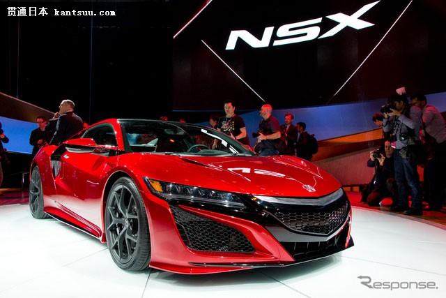 讴歌新nsx 底特律汽车显示 15 首映新本田 nsx 大规高清图片