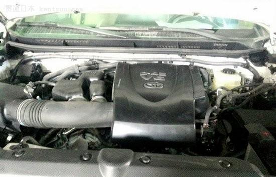 国产普拉多2.7l/3.5l车型同时曝光 3月底上市