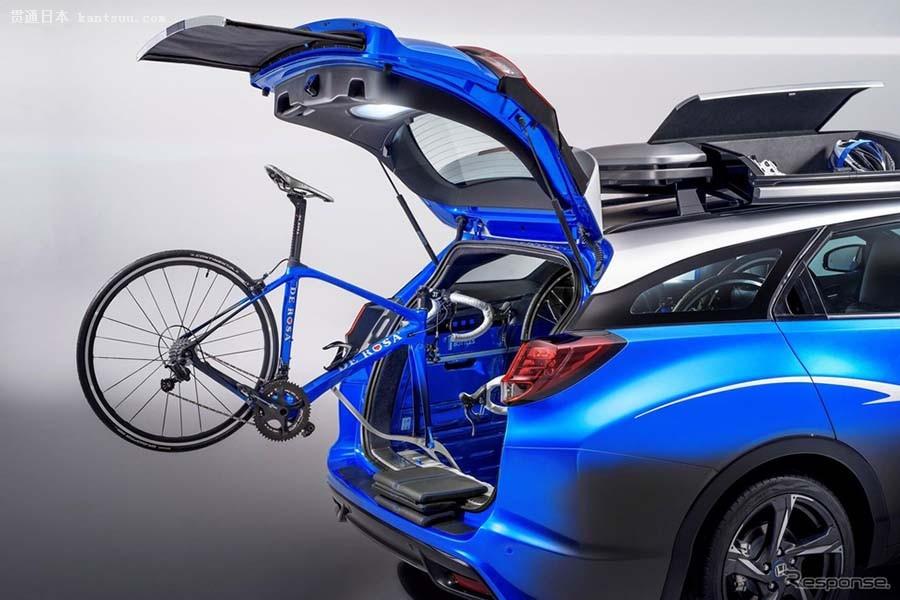 本田首秀思域civic tourer旅行车 行李空间与功能性演绎驱车郊游新