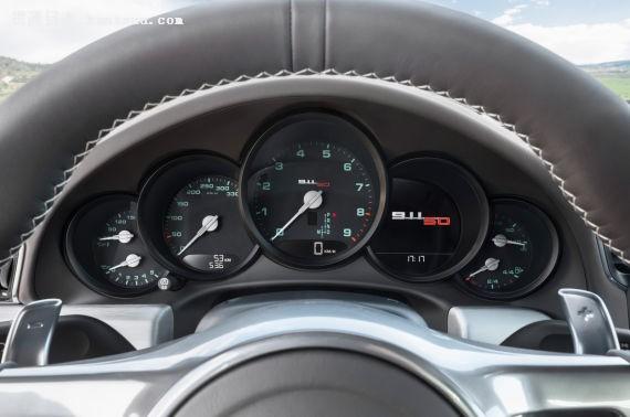 保时捷911 50周年纪念版发布 售92257英镑起
