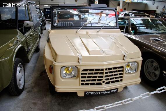 雪铁龙mehari越野车采用塑料车身,有前驱和四驱两个版本.