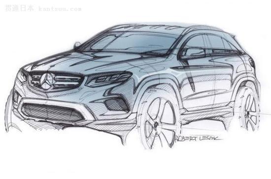奔驰glc设计图发布 法兰克福车展首发