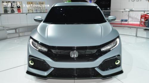 本田思域掀背原型车亮相纽约 量产车前瞻