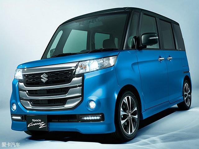 日本K-Car级别代表 铃木新Spacia官图